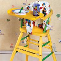 Сделать стульчик для кормления своими руками не сложно