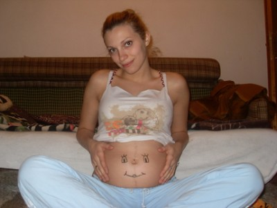 Во время беременность идут месячные