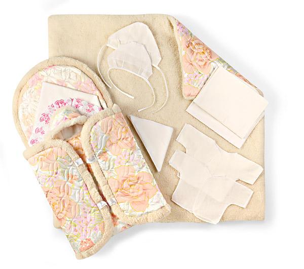 Конверт для новорожденного своими руками