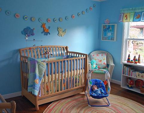фото комнаты для новорожденных