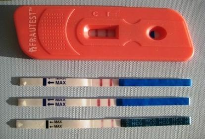 Тест вечером на беременность
