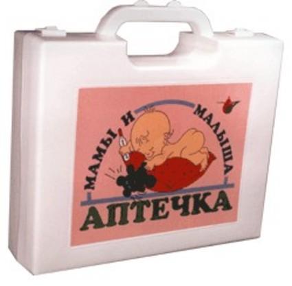 Детская аптечка для новорожденного: необходимое содержимое