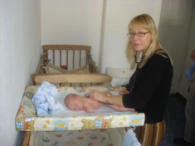 патронаж новорожденных на дому