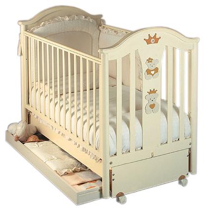 Как выбрать качественную кровать для новорожденного? Смотрим фото