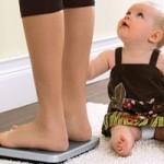 Как похудеть после родов кормящей маме или как снова стать стройной