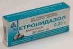 Метронидазол: показания к применению