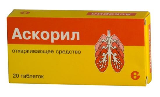 Таблетки Аскорил: вместе изучаем инструкцию по применению