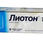Лиотон гель: описание, применение, дозировка