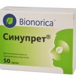 Синупрет таблетки: изучаем инструкцию по применению