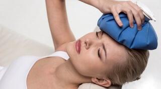 При травме головы рекомендуется применять холодный компресс