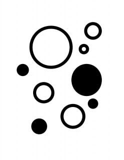 В возрасте до шести месяцев новорожденный все воспринимает в черно-белом изображении