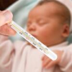 Узнайте, какую температуру необходимо сбивать у ребенка