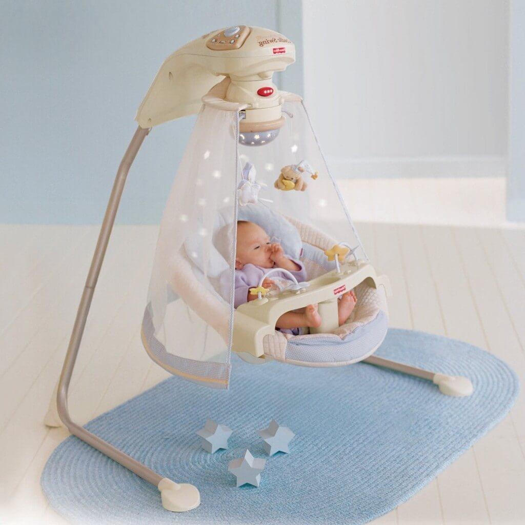 Электронные качели для новорожденных: выбираем подходящую модель
