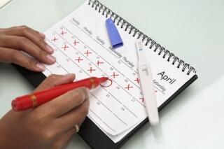 Календарь - это отличный помощник для тех, кто в скором времени собирается стать мамой