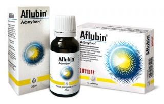 Капли Афлубин принимают также при вынужденном контакте с больным респираторно-вирусным заболеванием, переохлаждении, резком изменении климатических условий