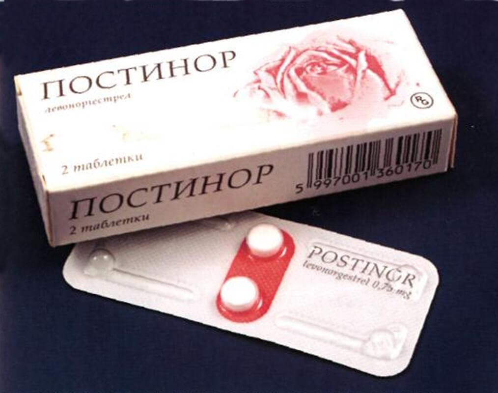 Постинор: побочные действия после приема препарата
