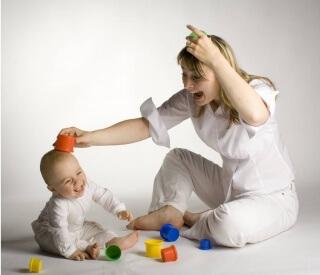 Обязательное условие для проведения игр — желание и хорошее настроение ребенка и его родителей