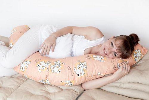 Как правильно спать беременным с подушкой