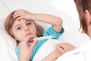 Литическая смесь показана для снижения температуры тела у детей во время гриппа и других инфекционных заболеваниях