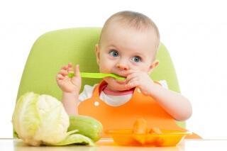 Для первого прикорма рекомендуются овощи