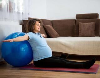 Упражнения для беременных - эффективный способ подготовки к родам