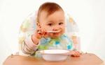 Меню 6 месячного ребенка-искусственника: особенности питания, правила прикорма
