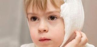 Компресс - эффективный метод лечения отитов у детей