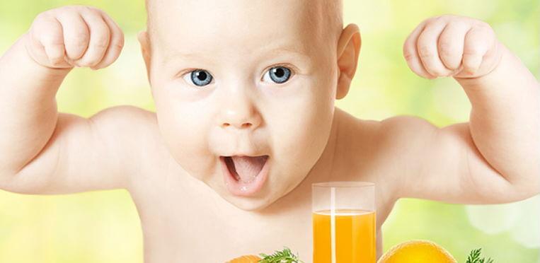 Как давать сок 4-месячному ребенку: рекомендации специалистов