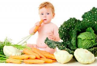 В день малышу необходимо получать около 1300 калорий