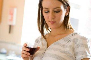 Алкоголь и беременность - не совместимы