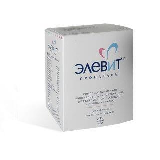 Элевит - эффективный витаминный комплекс