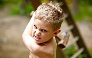 проявление детской агрессии