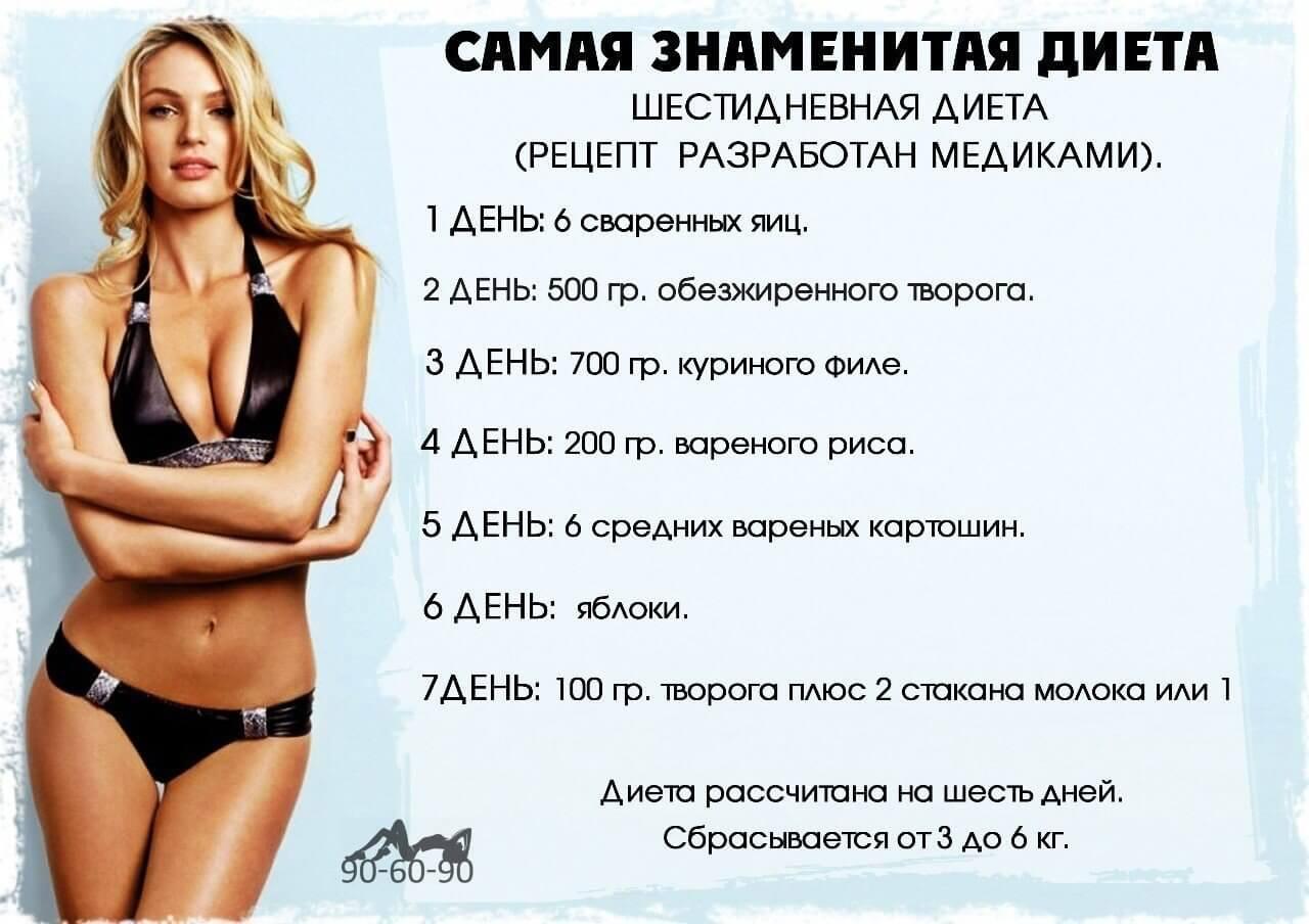 Диета для похудения на месяц по дням в домашних условиях