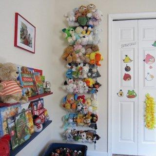 идея хранения детских игрушек