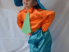Как смастерить костюм незнайки для своего ребенка?