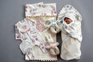 Комплекты из натуральных матриалов - залог здоровья малыша