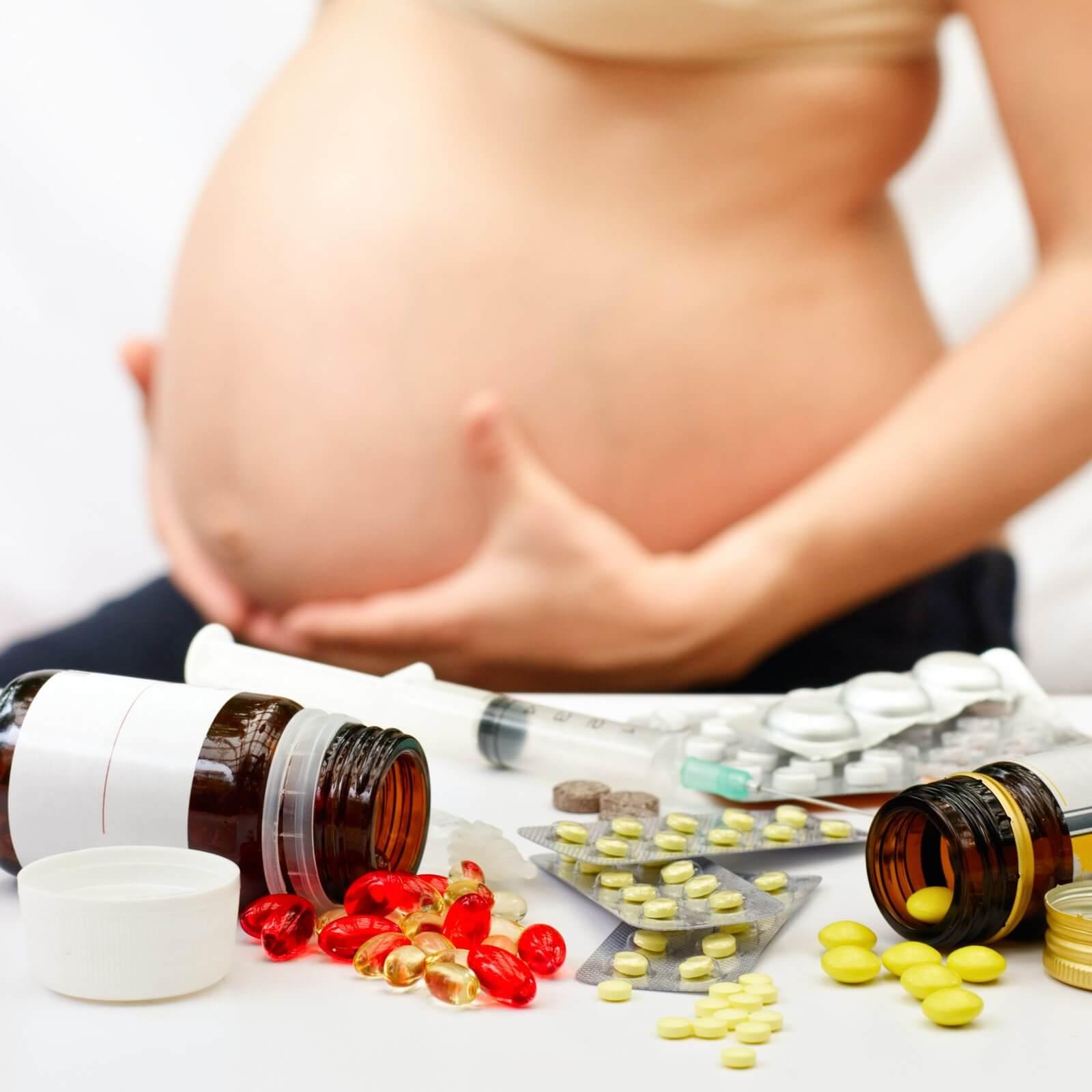 При простуде беременной что пить 54