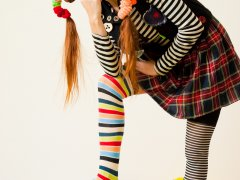 Праздничное преображение ребенка в костюме Пеппи Длинный Чулок