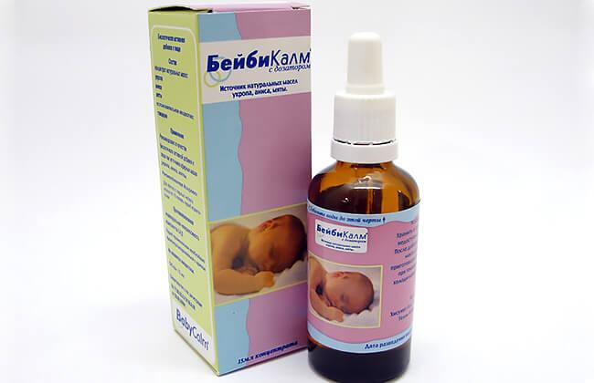 Лекарство Бебикалм: инструкция по использованию